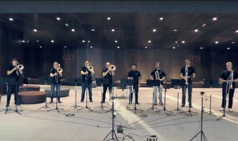 Wideo - Piotr Czajkowski - Suita Romeo i Julia (TromboSphere Poland)